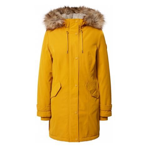 s.Oliver Zimný kabát  žltá / béžová