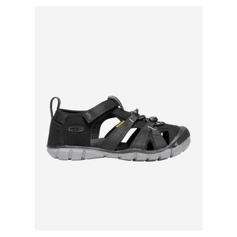 Topánky Keen Seacamp Ii Cnx Jr. Black/Steel Grey Us Čierna