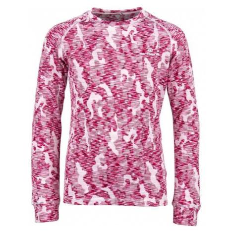 Arcore ELIAS ružová - Detské termo tričko s dlhým rukávom