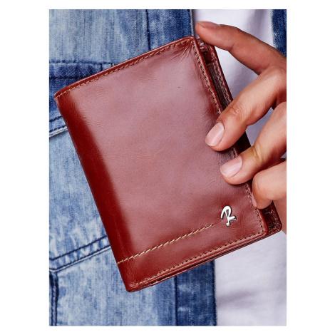 Men´s brown leather wallet