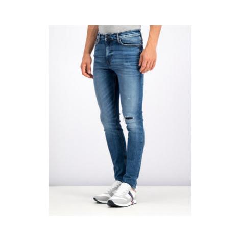 Tommy Jeans Džínsy DM0DM06384 Modrá Skinny Fit Tommy Hilfiger