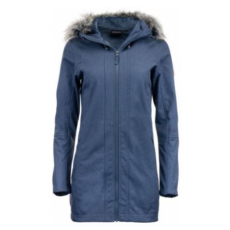 ALPINE PRO DUMUZA modrá - Dámsky softshellový kabát