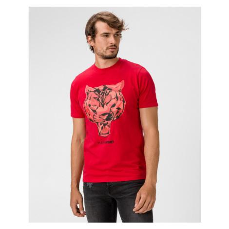 Philipp Plein Sport Tiger Tričko Červená