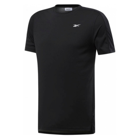 Reebok WORKOUT SS TECH TEE čierna - Pánske tričko