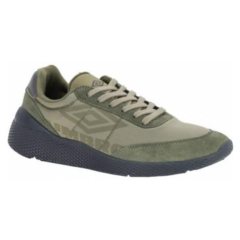 Umbro ANCOATS RE tmavo zelená - Pánska voľnočasová obuv