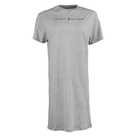 Tommy Hilfiger RN DRESS HALF SLEEVE šedá - Dámske predĺžené tričko