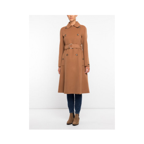 Sportmax Code Zimný kabát 70160496 Hnedá Regular Fit