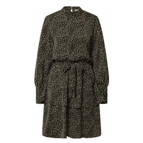 MOSS COPENHAGEN Šaty 'Willow'  čierna / nebielená