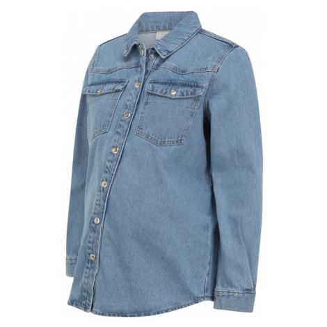MAMALICIOUS Prechodná bunda  modrá Mama Licious