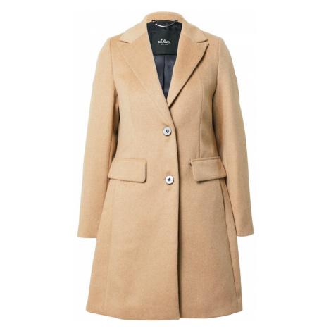 s.Oliver BLACK LABEL Prechodný kabát  krémová