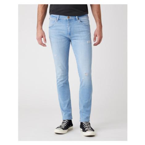 Wrangler Larston Jeans Modrá