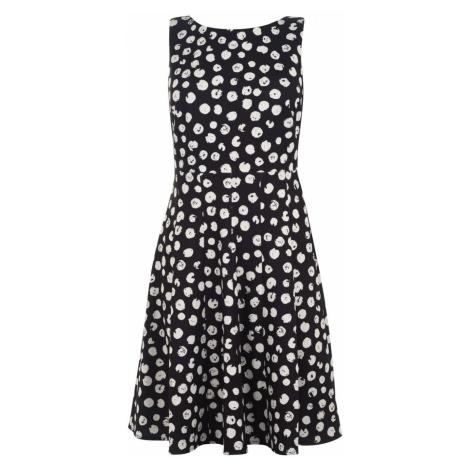 DKNY Brush dot dress Black