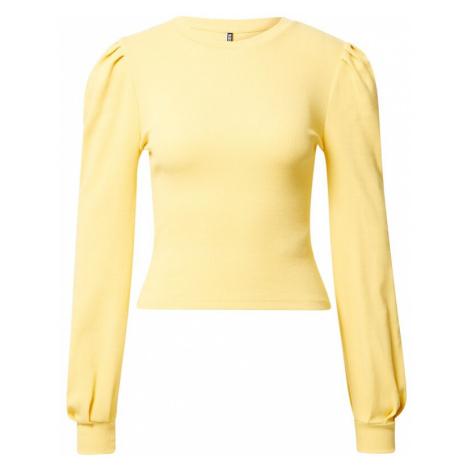 PIECES Tričko 'NANNA'  žltá