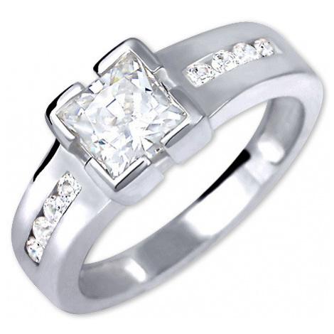 Brilio Silver Strieborný zásnubný prsteň 001 04 mm