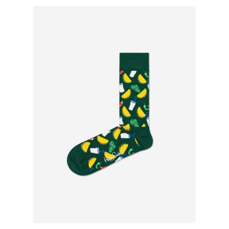 Taco Ponožky Happy Socks Zelená
