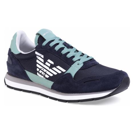 Sneakersy EMPORIO ARMANI - X4X215 XL198 C898 Aster/Berly