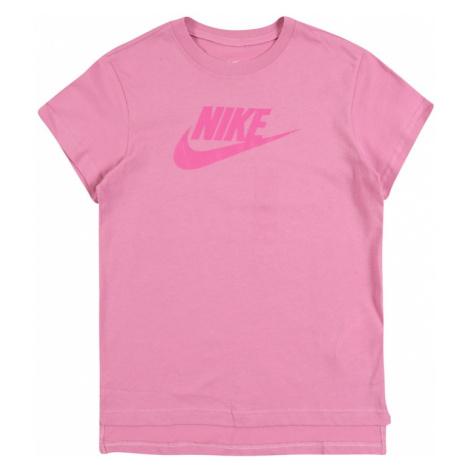 Nike Sportswear Tričko ' FUTURA'  ružová