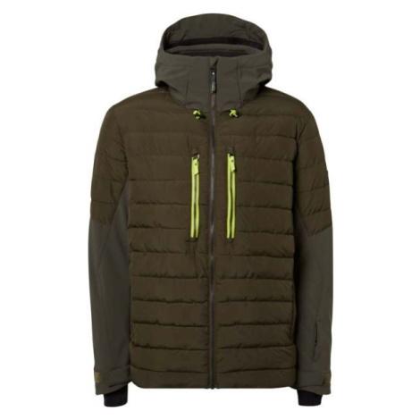 O'Neill PM IGNEOUS JACKET tmavo zelená - Pánska snowboardová/lyžiarska bunda