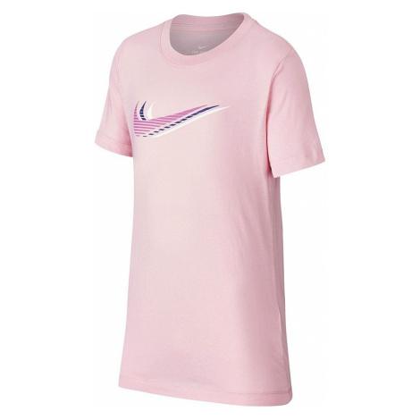 Dievčenské bavlnené tričko Nike