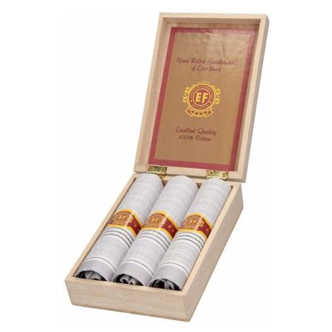 Pánske vreckovky v luxusnej sade ETEX Guro - šedá
