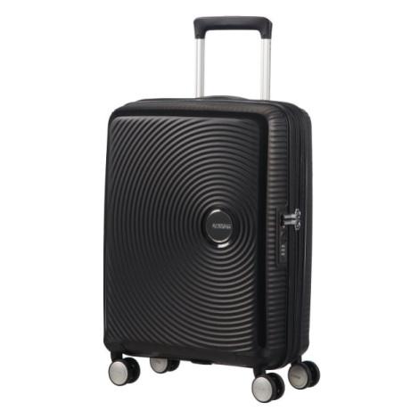 American Tourister Kabínový cestovný kufor Soundbox Spinner 32G 35,5/41 l - černá