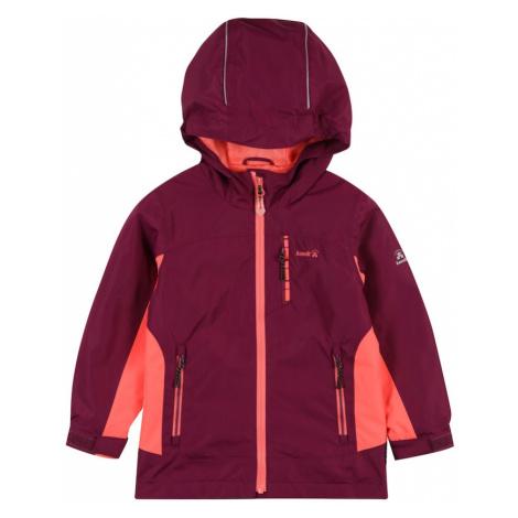 Kamik Outdoorová bunda 'Austen Shell'  farba lesného ovocia / koralová