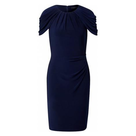 Lauren Ralph Lauren Kokteilové šaty 'AVONDY'  námornícka modrá