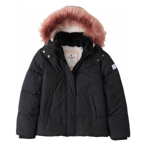 Abercrombie & Fitch Zimná bunda  čierna