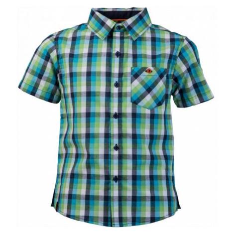 Lewro OLIVER modrá - Chlapčenská košeľa