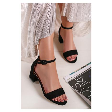 Čierne sandále 69539 Refresh