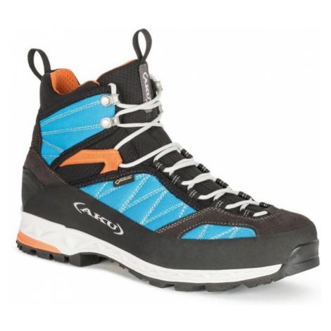 Topánky pánske AKU Tengu Lite GTX modro / oranžová