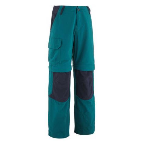 QUECHUA odopínateľné nohavice MH500