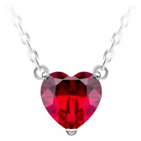 Preciosa Strieborný náhrdelník Cher 63