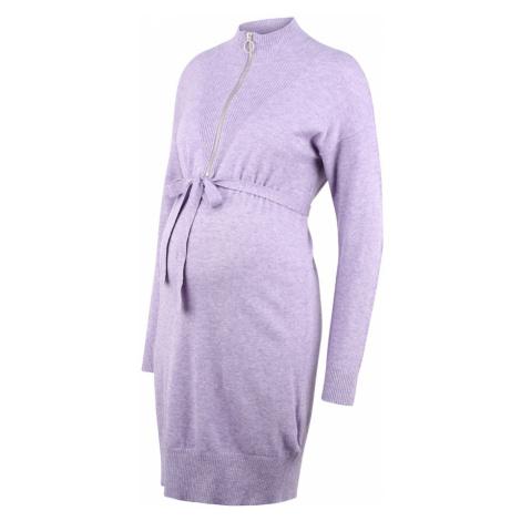 MAMALICIOUS Pletené šaty 'Nelly'  fialová Mama Licious