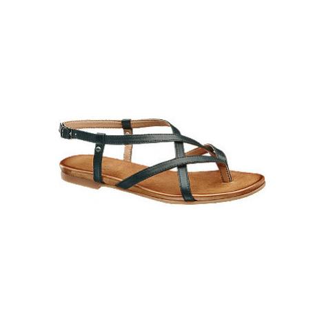 Kožené sandále 5th Avenue