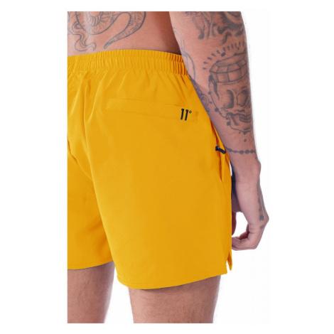 11 Degrees Core Swim Shorts Nectar Yellow