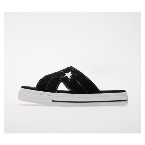 Converse One Star Sandal Black/ Egret/ White