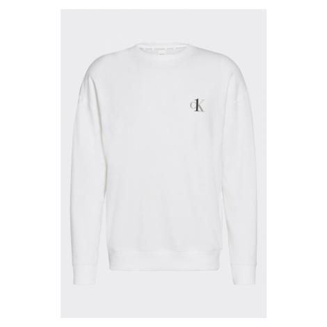 Calvin Klein CK ONE mikina pánska - biela