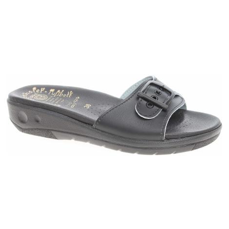 Dámské pantofle 5-20106 černá 5-20106 černá Rejnok