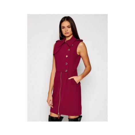 Marciano Guess Každodenné šaty Mariel 0BG724 9373Z Bordová Slim Fit