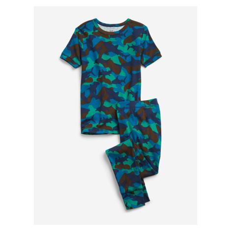 Modrá chlapčenské pyžamá