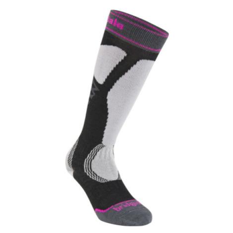 Ponožky Bridgedale Ski Easy On Women's black / light grey/035