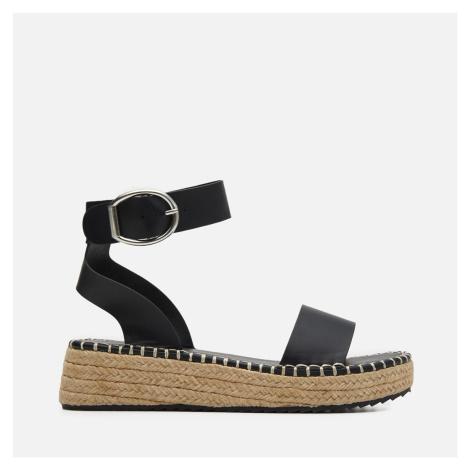 House - Sandále na kline - Čierna