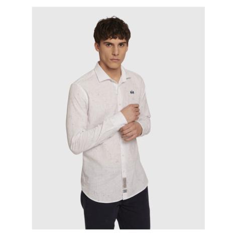 Košeľa La Martina Man L/S Shirt Printed Cotton L
