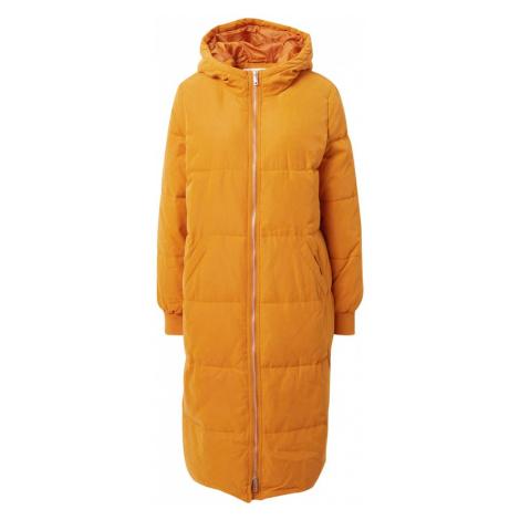 ABOUT YOU Zimný kabát 'Lara'  horčicová