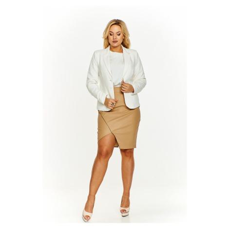 Elegantné dámske biele sako