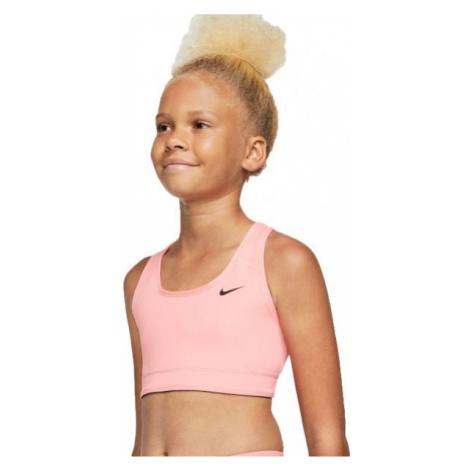 Nike NP BRA CLASSIC REV AOP G ružová - Dievčenská športová obojstranná podprsenka