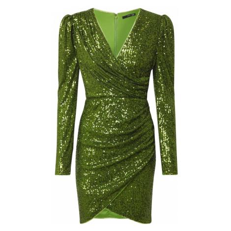 TFNC Kokteilové šaty 'Flory '  zelená
