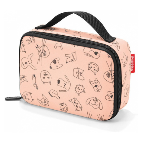Box na jedlo Reisenthel Thermocase Kids Cats and Dogs Rose