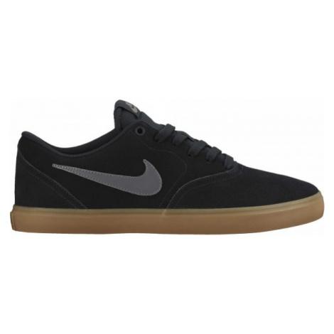 Nike SB CHECK SOLARSOFT čierna - Pánska skateboardová obuv